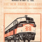 NHRR Timetable Cover 1968A