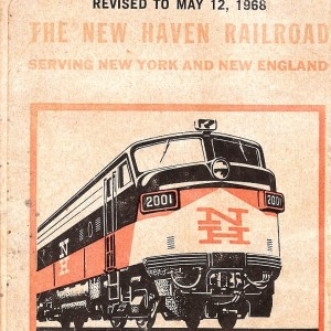Welcome To The Twilight Zone Of Travel:  Ads From The 1968 New Haven Railroad Timetable