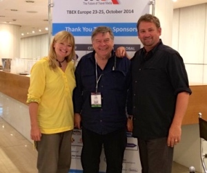 Dave And Deb And Paul At TBEX Athens