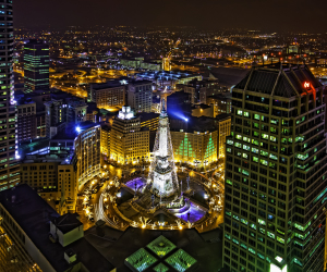 An Indy Christmas Around Monument Circle