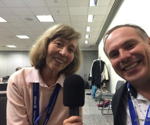 Johnny Jet And Elizabeth Harryman Talk Travel At The New York Times Travel Show