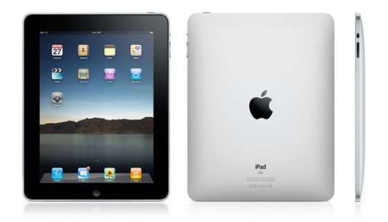 Apple introduces the iPad