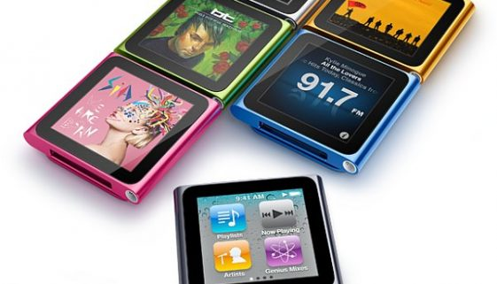 Apple's new iPods unveiled