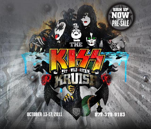 Kiss Band Members With Makeup: Rock Band KISS Booked For Fan Cruise