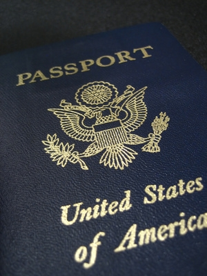 Know regulations require a passport for entering the U.S. from ANY country.