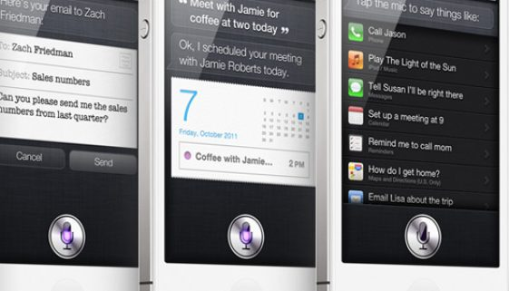 Saying hello to the iPhone 4S and Siri