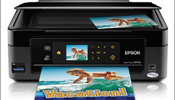 Wireless printing with Epson's NX Stylus printers