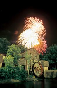 Old Mill FireworksPigeonForge