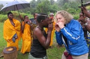 Margie Goldsmith Uganda