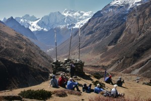 HIGH IN THE KALI GANDAKI VALLEY, MANASLU HIMAL