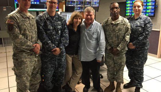 Sergeant First Class Nick Waddell, U.S. Army; Petty Officer First Class Stephen Hale, U.S. Navy; Staff Sergeant James Barrett, U.S. Army; Petty Officer Second Class MacKenzie Adams, U.S. Navy