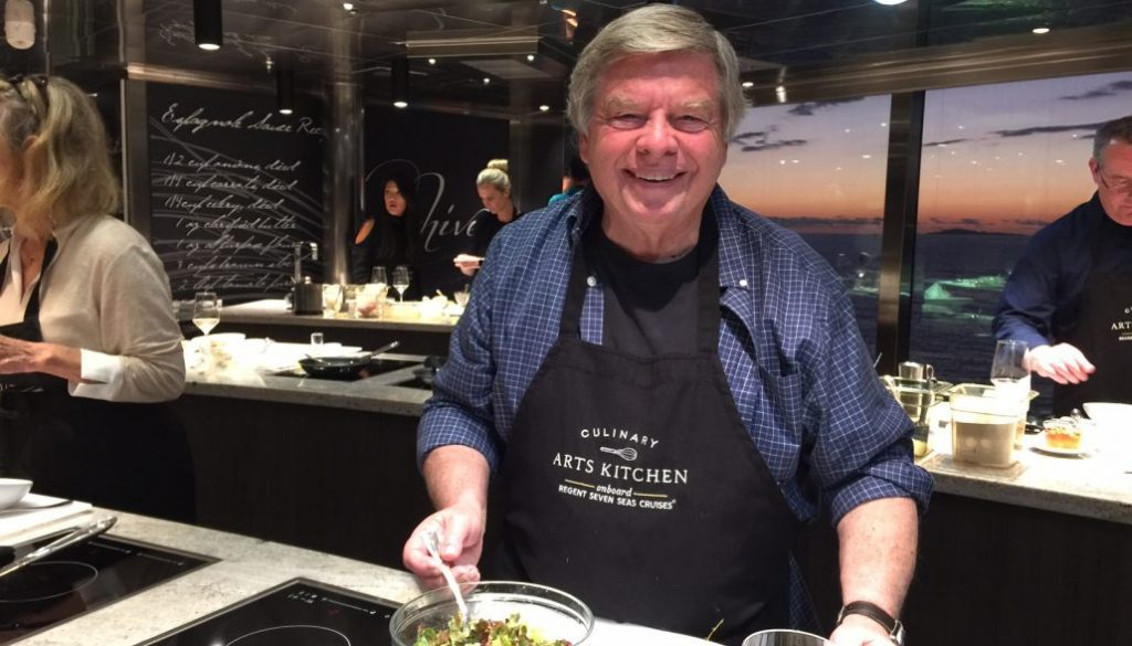 Learning Culinary Skills OnBoard Seven Seas Explorer