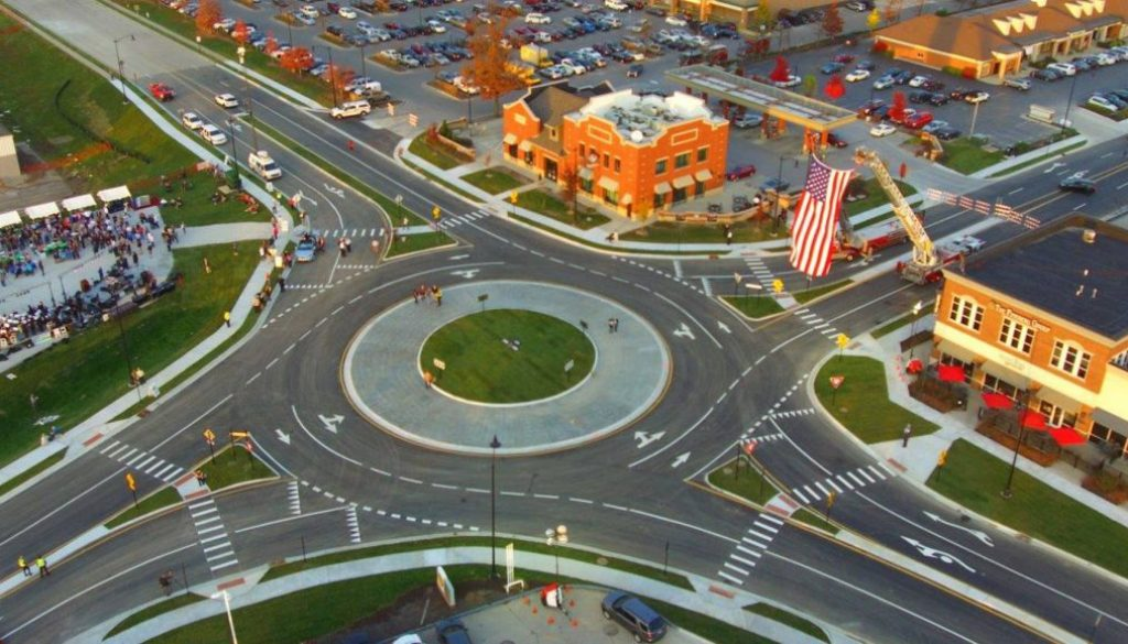 Carmel Indiana Champions Traffic Roundabouts As Way To Lessen Congestion