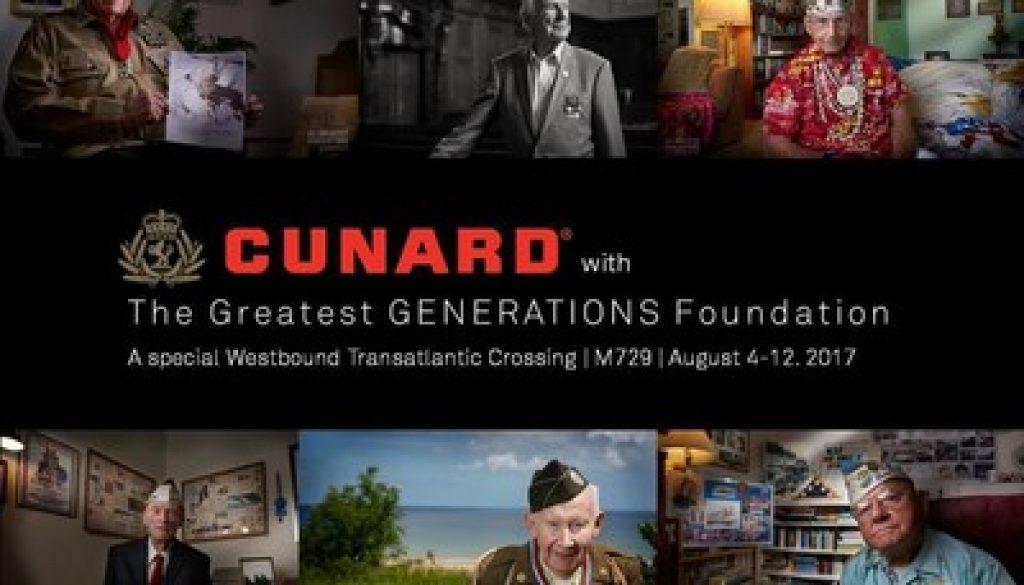 Cunard Voyages WWII