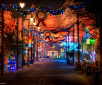 Morphing Holidays at Disney's California Adventure