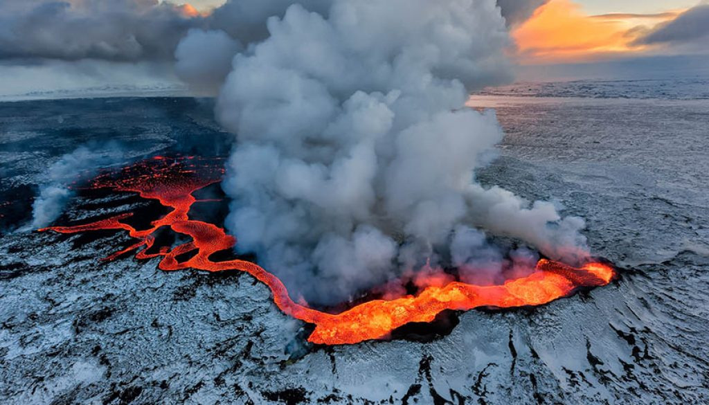 iceland volcanoes
