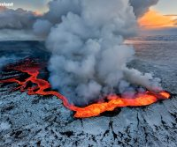 Jennifer Dombrowski Journeys Into A Volcano In Iceland
