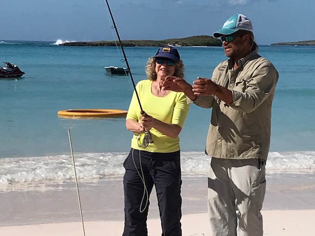 People -- Margie Goldsmith Talks About Fishing In Abacos, Bahamas