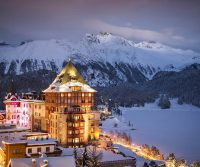 Places -- Badrutt's Palace Is The Legendary Hotel Of St. Moritz