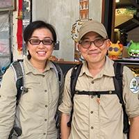 Daisy Fu and Francis Lau