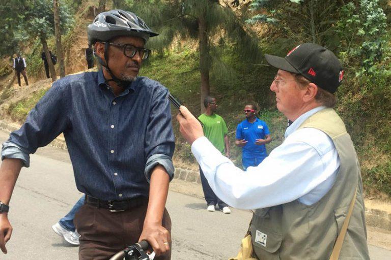 DeVoss interviews Kagame