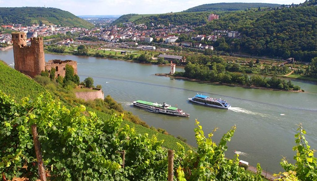 Rhine River © Rudesheim Tourist AG