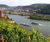 Swim in the Rhine at Basel, Switzerland
