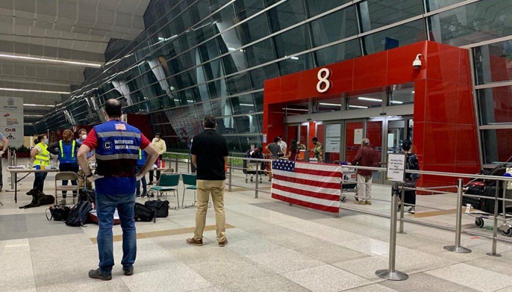 Closed Delhi Airport