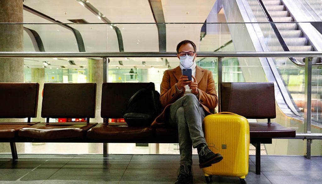lone traveler masked