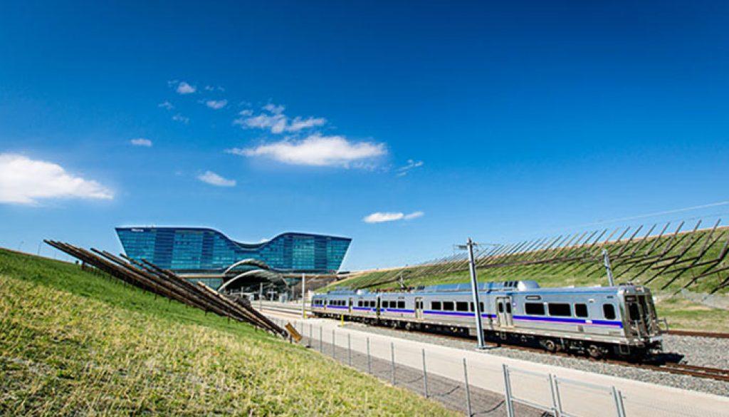 A Line Train Denver