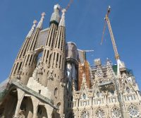 Spain's Soon-To-Be-Completed Cathedral and Quirky Festivals