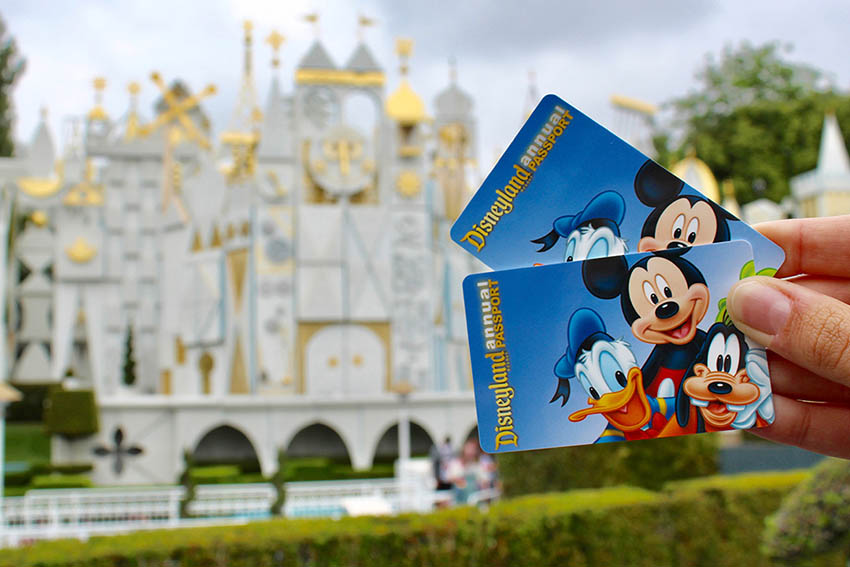 disneyland passport